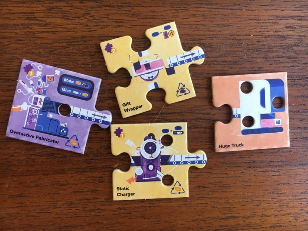 Mechanica Board Game Pieces
