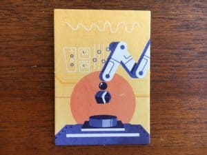 Mechanica's Armand-o Card