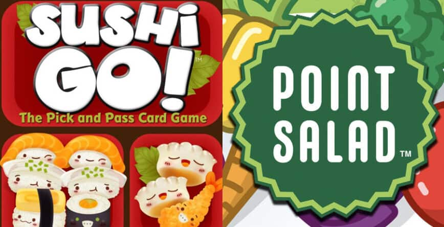 Sushi Go Vs Point Salad: The Best Simple Drafting Game