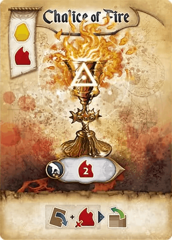 Chalice of Fire Res Arcana Artifact Card