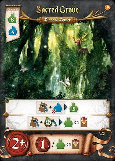 Res Arcana Place of Power, the Sacred Grove