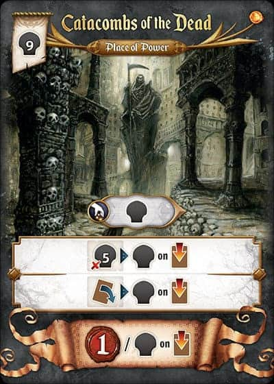 Res Arcana Place of Power, Catacombs of the Dead