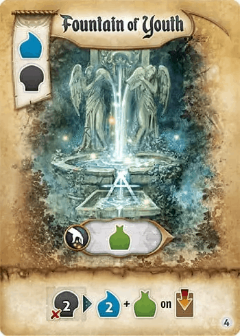 Fountain of Youth Res Arcana Artifact Card